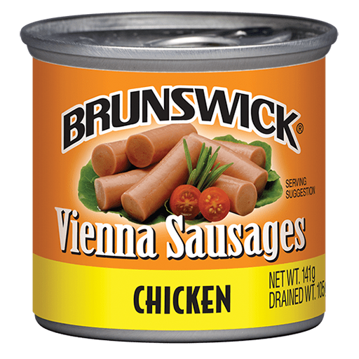 Brunswick<sup>&reg;</sup> Chicken Vienna Sausages – 141g