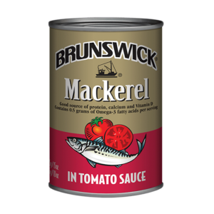 Brunswick<sup>&reg;</sup> Mackerel in Tomato Sauce – 425g