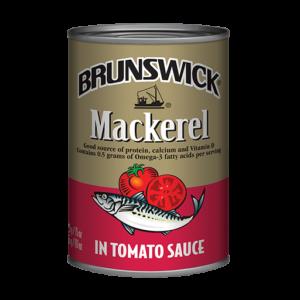 Brunswick<sup>®</sup> Mackerel in Tomato Sauce – 425g