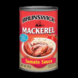 Brunswick<sup>&reg;</sup> Mackerel in Tomato Sauce – 155g