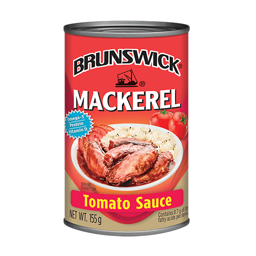 Brunswick<sup>&reg;</sup> Mackerel in Tomato Sauce – 155g