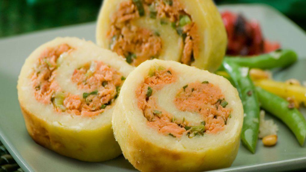 Brunswick<sup>&reg;</sup> Salmon and Breadfruit Roll
