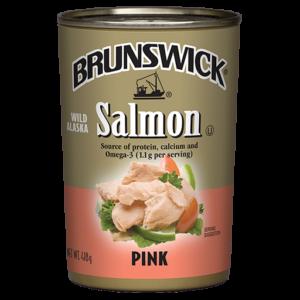 Brunswick<sup>®</sup> Wild Alaska Pink Salmon – 418 g