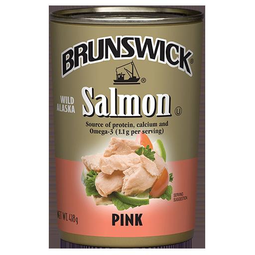 Brunswick Wild Alaska Pink Salmon – 418 g