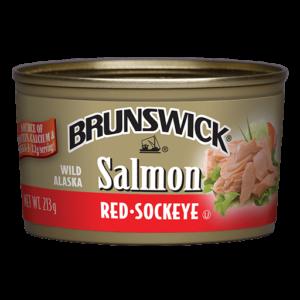Brunswick<sup>®</sup> Wild Alaska Red Sockeye Salmon – 213g