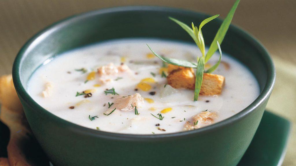 Brunswick<sup>®</sup> Tarragon Salmon Chowder