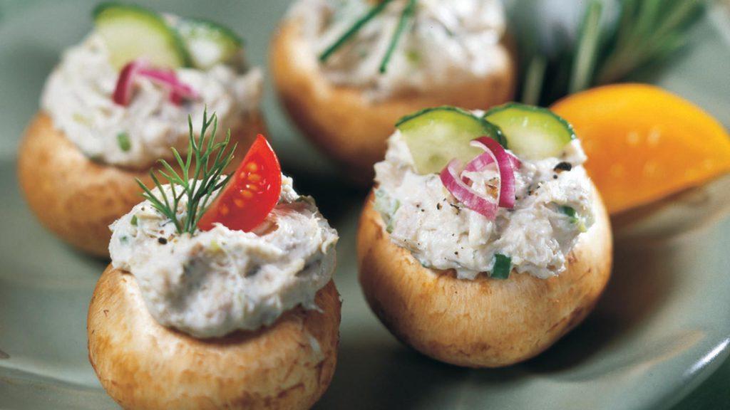 Brunswick<sup>®</sup> Fillet Stuffed Mushroom Caps