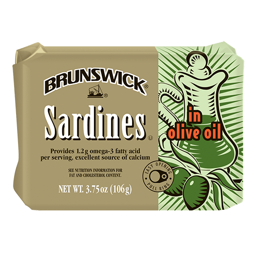 Brunswick<sup>®</sup> Sardines in Olive Oil – 106g