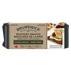 Brunswick<sup>&reg;</sup> Seafood Snacks Golden Smoked – 92g