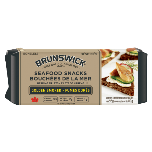Brunswick Seafood Snacks Golden Smoked – 92g