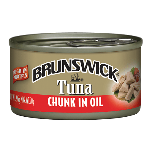 Brunswick<sup>&reg;</sup> Chunk Tuna in Oil – 95g