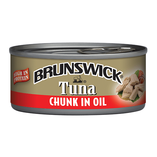 Brunswick<sup>&reg;</sup> Chunk Tuna in Oil – 142g