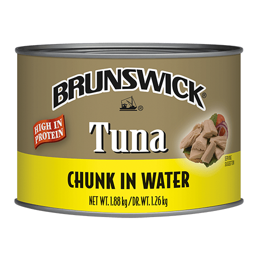 Brunswick<sup>&reg;</sup> Chunk Tuna in Water – 1.88kg