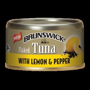Brunswick<sup>&reg;</sup> Flaked Tuna with Lemon &#038; Pepper &#8211; 85g