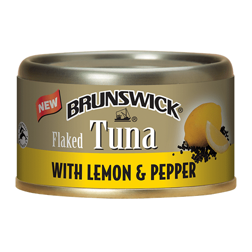 Brunswick<sup>&reg;</sup> Flaked Tuna with Lemon &#038; Pepper &#8211; 85g