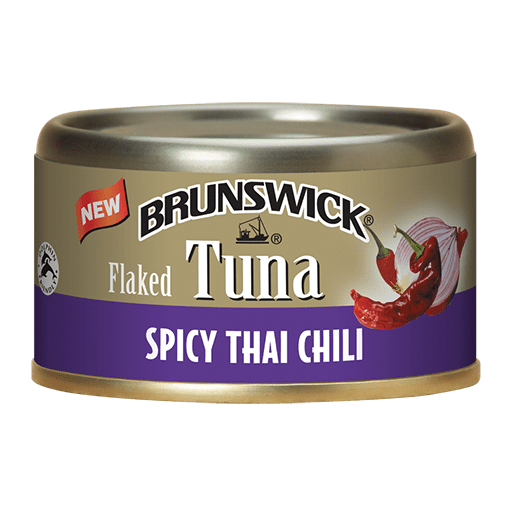 Brunswick<sup>&reg;</sup> Flaked Tuna Spicy Thai Chili – 85g