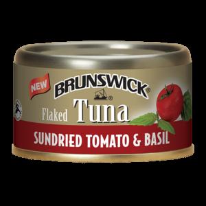Brunswick<sup>®</sup> Flaked Tuna Sundried Tomato & Basil – 85g