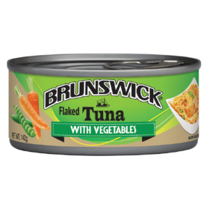 Brunswick<sup>®</sup> Flaked Tuna with Vegetables – 142g