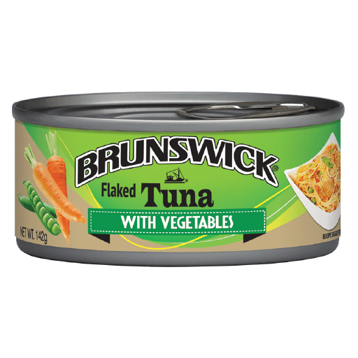 Brunswick Flaked Tuna with Vegetables – 142g