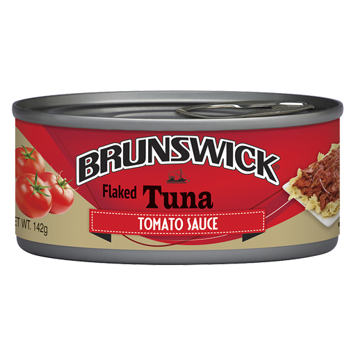 Brunswick<sup>®</sup> Tuna in Tomato Sauce-142g